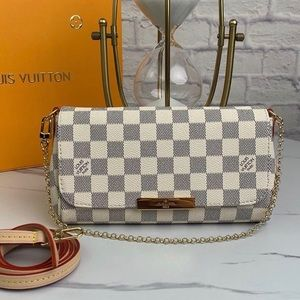 Louis Vuitton favorite damier azur